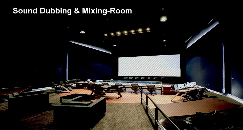 Sound Dubbing Mixing Room